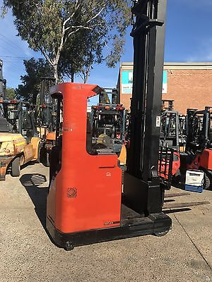 Forklift , Used Forklift , Second Hand Forklifts , Toyota Reach Truck , Lqqk