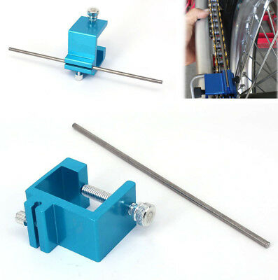 1Pcs Motorcycle Motorbike Bike Chain Alignment Tool for Rear Sprocket Adjustment