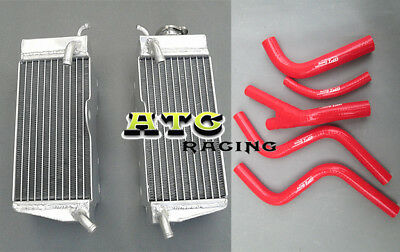 Aluminum Radiator & Hose For Honda Cr250R Cr250 Cr 250 R 85 86 87 1985 1986 1987