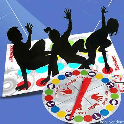 Classic Twister Funny Family Moves Board Game Children Friend Body Games HY10