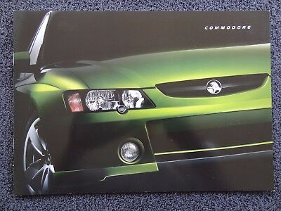 Holden 2002 - VY  Commodore Sales Brochure. BRAND NEW!