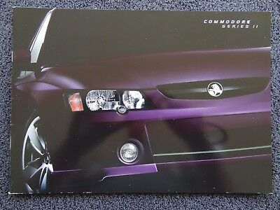 Holden 2003 - VY Series II Commodore Sales Brochure. BRAND NEW!