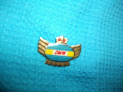DMW Motorcycle very old lapel,hat pin badge