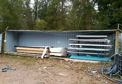40ft open sided shipping container used