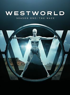 Westworld Season 1 DVD 2016 UK Compatible *Brand New Sealed* UK SELLER IN STOCK
