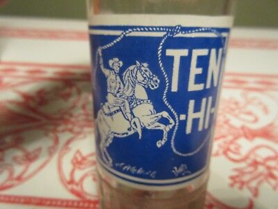 ACL Soda Pop Bottle Ten Hi Cowboy Horse Selkirk Manitoba Canada