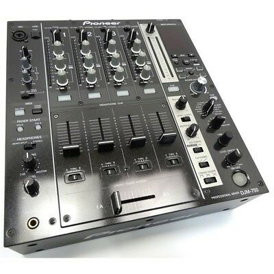 Pioneer DJM 750 Professional 4 Channel Digital DJ Desktop Mixer inc Warranty