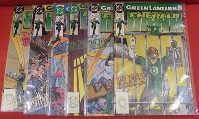 Green Lantern Emerald Dawn Ii 1-6 Dc Comic Set Complete Giffen Jones 1991 Vf+