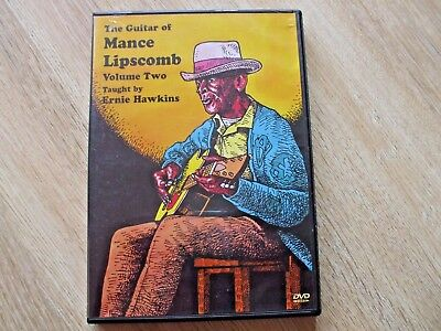 The Guitar Of Mance Lipscomb Vol 2. Taught By  Ernie Hawkins Dvd + Tab Booklet