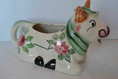 Vintage Cow Creamer Flower Japan