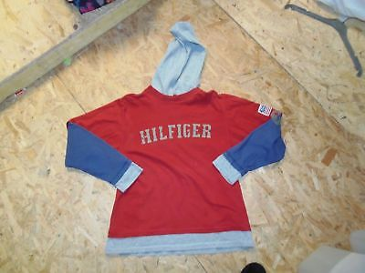 Tee Shirt A Capuche Tommy Hilfiger Taille 12 Ans