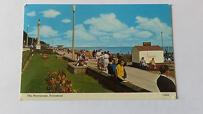 Postcard Felixstowe, The Promenade. Posted 1967.