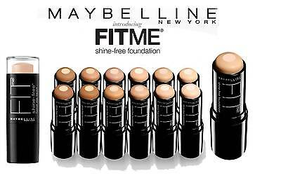 Maybelline Fit Me Anti-Shine Foundation Stick 3 In 1 Concealer Powder *choose*