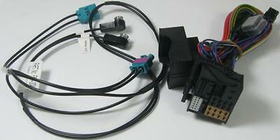 Vw Pure Highway 300Di Elan Quad Dab Power Cable Lead + Double Fakra Fm Adaptor