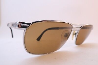 Vintage 70s sunglasses stainless steel RODENSTOCK Mod ZERMATT glass lens Germany