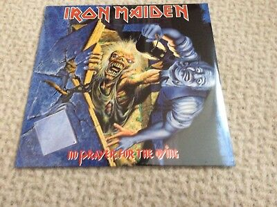 IRON MAIDEN No Prayer For The Dying 180gm Remastered Vinyl LP 2017 NEW & SEALED