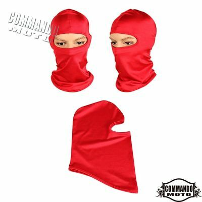 1 Pcs Red Outdoor Face Mask Hats Protection Ear Neck For Riding Skiing Paintball