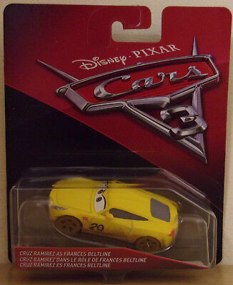 Disney Pixar Cars 3 ~ Die-Cast ~ Cruz Ramirez As Frances Beltline
