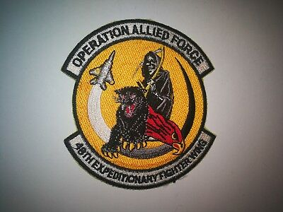 RAF Lakenheath 48thFW USAF years patch
