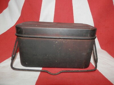 WW2 Japanese Army Rice cooking pot for officers.NIGIRIYA