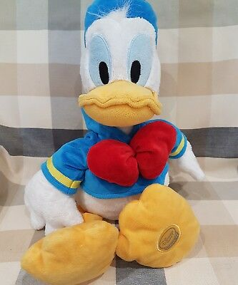 """Disney Store Donald Duck Soft Toy Plush 18"""" rare foot stamped"""