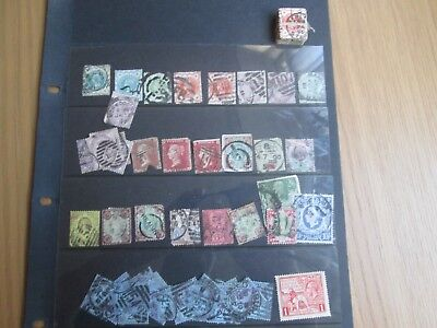 Old GB stamp collection  QV  + GVI Used