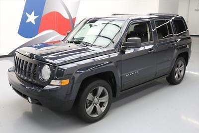 2014 Jeep Patriot  2014 JEEP PATRIOT HIGH ALTITUDE SUNROOF HTD LEATHER 36K #888823 Texas Direct
