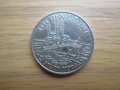 Rare Grace Darling (1815 1842) Medallion Rnli Captain Morcan 1824 1974 Lifeboats
