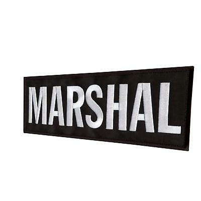 marshal large XL 10'x4' body armor plate bordado parche hook-and-loop patch