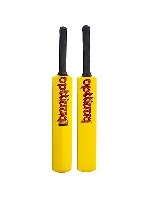Opttiuuq Frontfoot Plastic Cricket Bat. Adults and Junior Sizes 1, 2,3, 4, 5/6