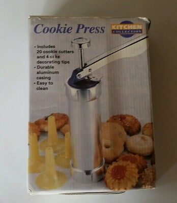 """"""" NEW """" Cookie Press, Cake Decorating, AnyWears Biscuits, Kitchen Collection"""