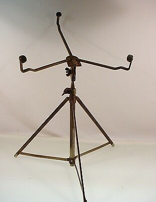 VINTAGE SNARE DRUM STAND WALBERG AUGE LUDWIG SLINGLAND 30-40's SNARE STAND