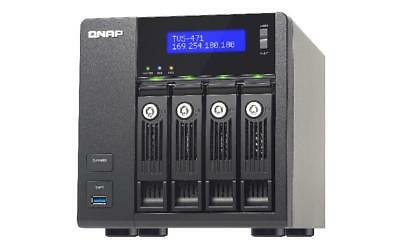 NEW! QNAP TVS-471-I3-4G 32TB 4 x 8TB SGT-IW 4 Bay NAS Unit with 4GB RAM