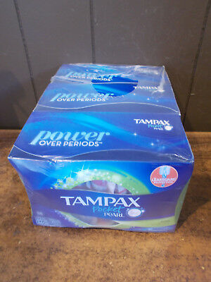 Tampax Pocket Pearl Plastic Tampons, Unscented, 36 ct (3 Pack)