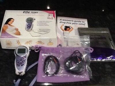 Elle Tens Machine with brand new pads