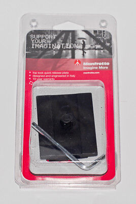 Manfrotto MSQ6PL Tripod Mount Quick Release  NEW Free Shipping!