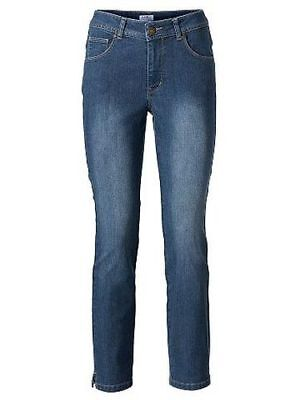 S9°5070 Bodyform Jeans Von Ashley Brooke In Blau Gr. 46 Neu