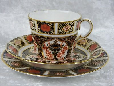 Royal Crown Derby Imari 1128 - Plate Cup And Saucer