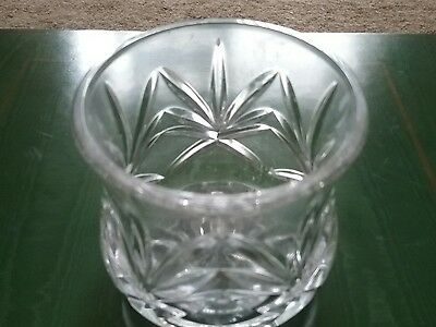 Galway Irish Crystal Small Vase. 7Cms Tall