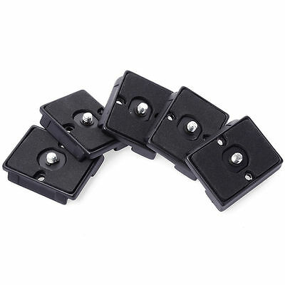 5pcs Camera Quick Release Plate For Manfrotto RC2 System 322 484 486 488 DC464