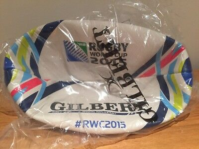 Gilbert Official Licensed Rugby World Cup 2015 England Replica Rugby Ball size 5