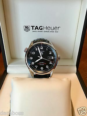 Tag Heuer Calibre 5 Drive Timer automatic WAR2A10.FC5037 with box and papers
