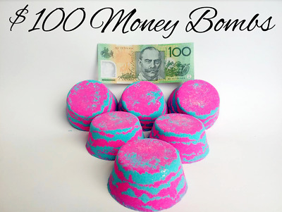 Money Bath bombs / Fizzzbathbombs 1 in 15 chance to win $100