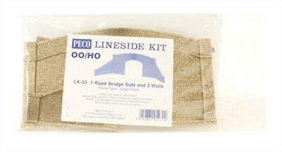 Peco - Lk33 - Road Bridge Single Track (Ho Scale)
