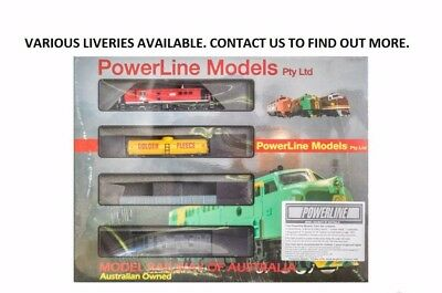 Powerline - Fbm000 - 48 Cl Mixed Freight Set (Ho Scale)