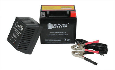 Mighty Max YTX5L-BS Battery for SUZUKI LT80 Quad 80 80CC 87-06 12V 1AMP CHARGE
