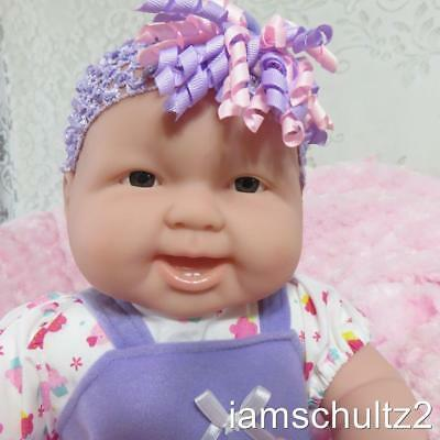 "NEW Adorable 20"" Cuddly Chubby Happy W/Teeth Berenguer Baby Doll -Reborn or Play"