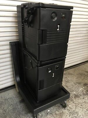 Double Heated Ultra Food Pan Carrier Cambro CAM6000 #7256 Commercial Warmer NSF