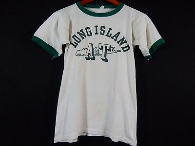 1950s Champion Processed Sportswear LONG ISLAND A & T SPORTS T SHIRT VINTAGE