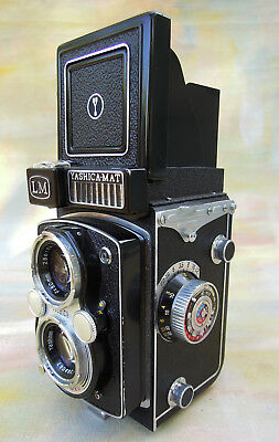 Yashicamat Lm 120 Film Tlr Camera 3.5 Lens And Light Meter